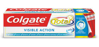 Colgate Total Visible- Action: RECENSIONE